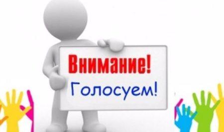 """Общественное голосование """"Родной район"""""""